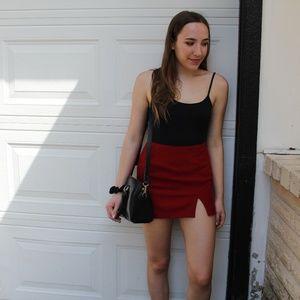 Black Low Back Zara Bodysuit